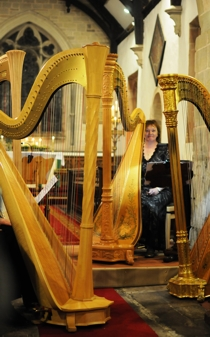 Photo: Harp Ensemble: Helen Barley