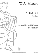 Cover: Adagio for Solo Harp