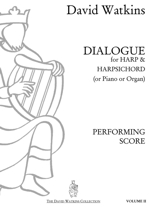 Cover: VOLUME 2 - 'DIALOGUE' for Harp and Harpsichord (or Keyboard)