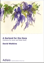 Score cover: A garland for the harp